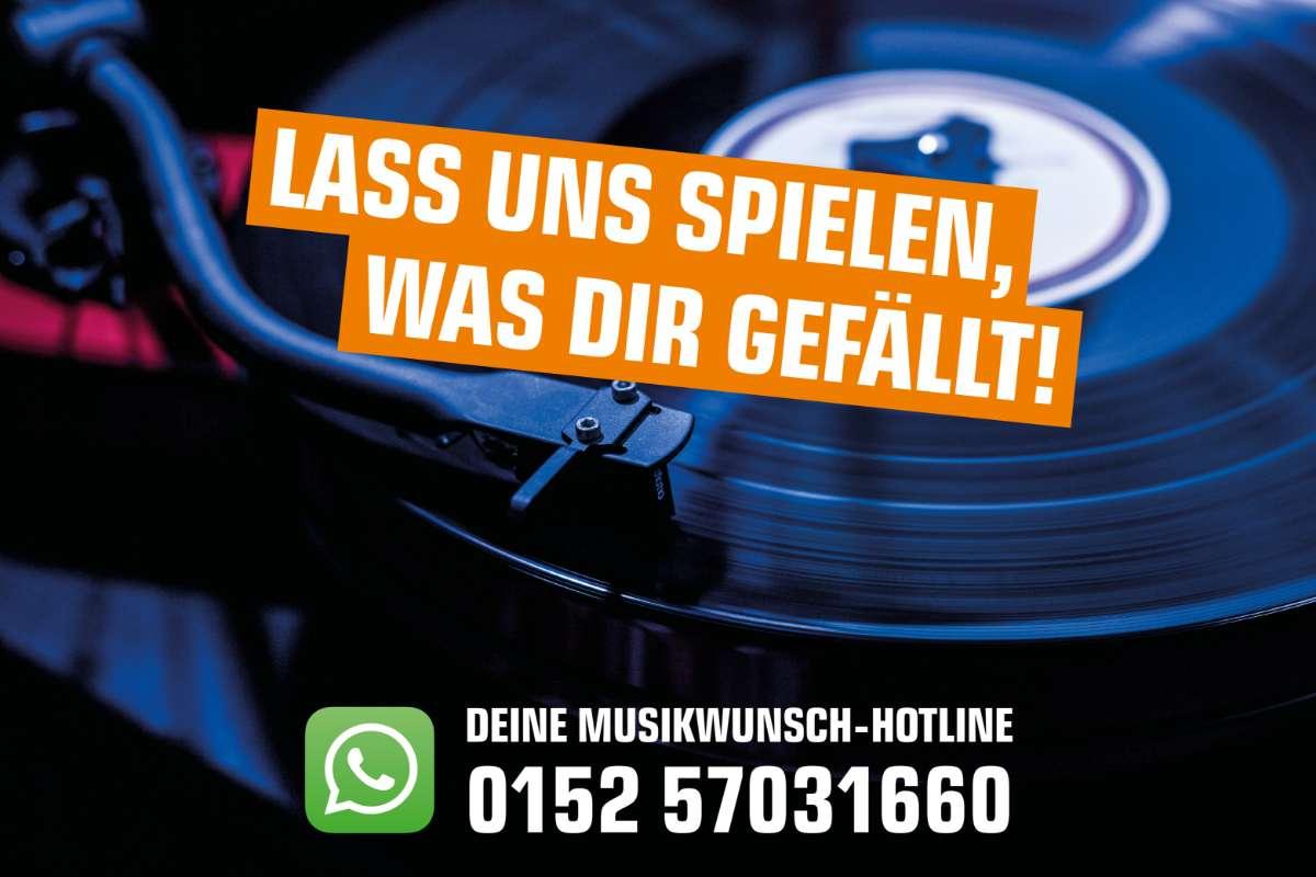 Deine Musikwunsch-Hotline